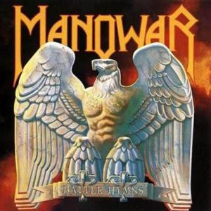 "Manowar- Battle Hymns 4x4"" Color Patch"