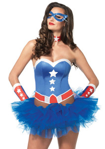 Leg Avenue - American Hero Costume Kit