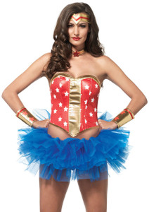 Leg Avenue - Wonder Hero Costume Kit