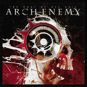 "Arch Enemy - The Root of All Evil 4x4"" Color Patch"