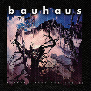 "Bauhaus - Burning From the Inside 4x4"" Color Patch"