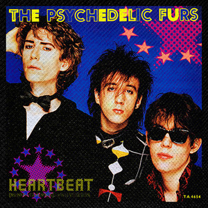 "The Psychedelic Furs - Heartbeat 4x4"" Color Patch"