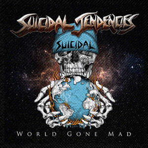"Suicidal Tendencies - World Gone Mad 4x4"" Color Patch"