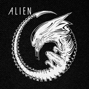 "Ridley Scott's Alien - Xenomorph Queen 4x4"" Printed Patch"