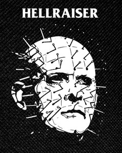 "Clive Barker's Hellraiser - Pinhead 3.5x5"" Printed Patch"