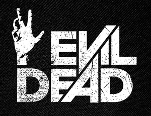 "Evil Dead Logo 5x3"" Printed Patch"