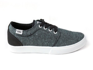 Circa - White Knit and White Drifter Sneaker