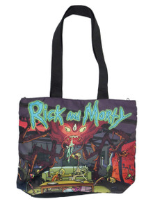 Go Rocker - Rick and Morty Insect Attack Shoulder Bag