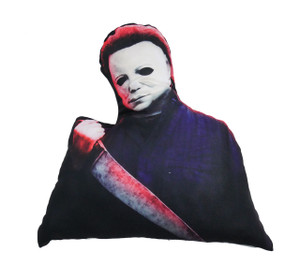 Go Rocker - Michael Myers with Knife Shaped Throw Pillow