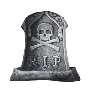 Go Rocker - R.I.P. Tombstone Throw Pillow