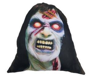 Go Rocker - Evil Dead's Cheryl Williams Throw Pillow