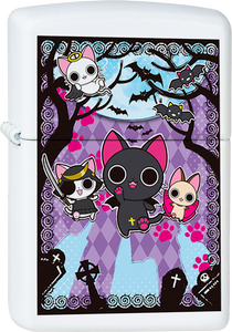 The Gothic World of Nyanpire White Lighter