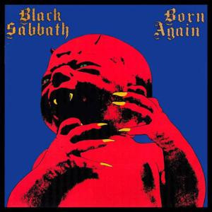 "Black Sabbath - Born Again 4x4"" Color Patch"