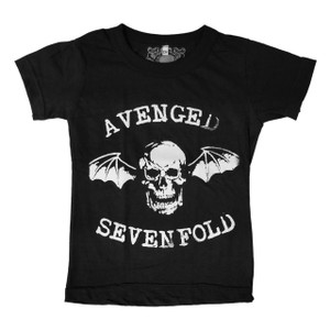 Kid's T-Shirt - Avenged Sevenfold Skullbat