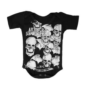 Baby Onesie - Avenged Sevenfold Skullbat Collage