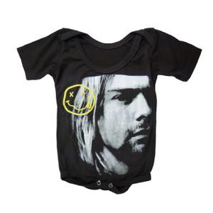 Baby Onesie - Nirvana Kurt Cobain