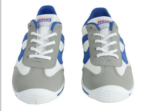 Panam - White and Blue Synthetic Unisex Sneaker