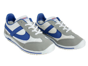 Panam - White and Blue Unisex Sneaker