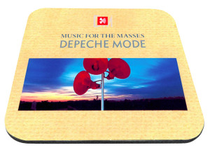"Depeche Mode - Music For The Masses 9x7"" Mousepad"