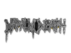 "Napalm Death Logo 3.5"" Metal Badge"