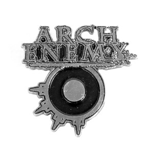 "Arch Enemy Logo 2"" Metal Badge"