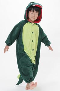 Kid Size Dinosaur Kigurumi Onesie