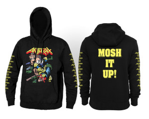 Anthrax - Mosh It Up Hooded Sweatshirt
