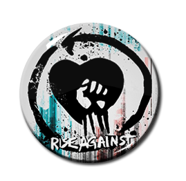 "Rise Against - This Is Noise 1.5"" Pin"