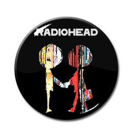 "Radiohead - The Best of 1.5"" Pin"
