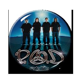 """P.O.D. - Satellite 1.5"""" Pin"""