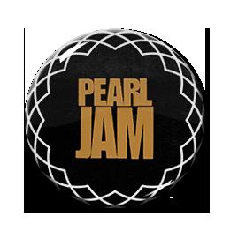 "Pearl Jam Tour Logo 1.5"" Pin"