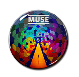 "Muse - The Resistance 1.5"" Pin"