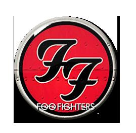 "Foo Fighters Logo 1.5"" Pin"