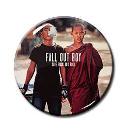 "Fall Out Boy - Save Rock And Roll 1.5"" Pin"