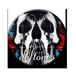 """Deftones 1.5"""" Pin"""
