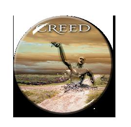 """Creed - Human Clay 1.5"""" Pin"""