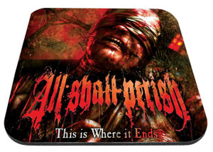 "All Shall Perish - This Is Where It Ends 9x7"" Mousepad"