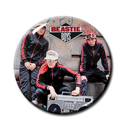 "Beastie Boys - Solid Gold Hits 1.5"" Pin"