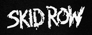 "Skid Row Logo 5x2.5"" Printed Patch"