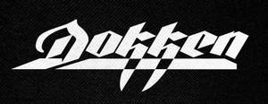 "Dokken Logo 5x2.5"" Printed Patch"