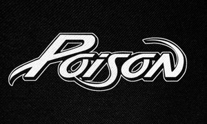 "Poison Logo 5x3"" Printed Patch"