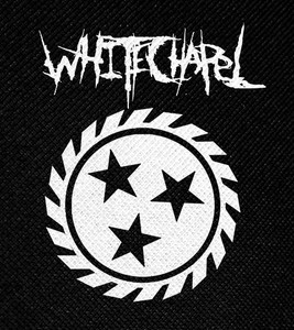 "Whitechapel Logo 4x4"" Printed Patch"