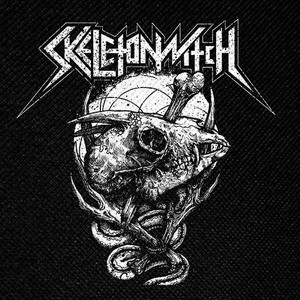 "Skeletonwitch - Goat Skull 4x4"" Printed Patch"