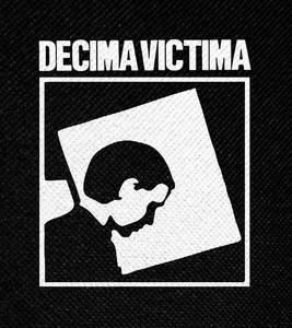 "Decima Victima 4x4"" Printed Patch"