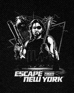 "Escape From New York 4x4"" Printed Patch"