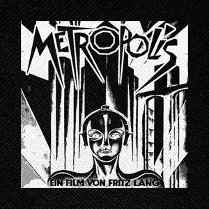 """Metropolis 4x4"""" Printed Patch"""