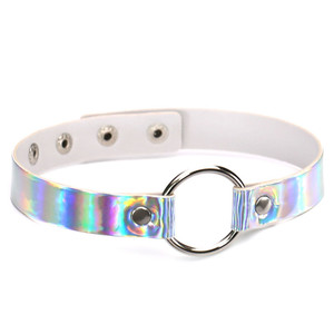 Holograph Choker with O-Ring