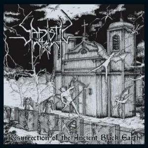 "Sadistic Intent - Resurrection Of The Ancient Black Earth 4x4"" Color Patch"