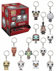 Funko Mystery Pocket Pop - Nightmare Before Christmas Pops
