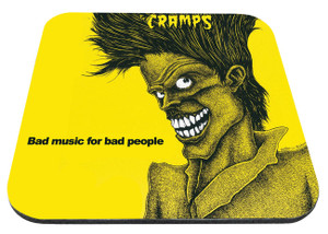 "The Cramps - Bad Music For Bad People 9x7"" Mousepad"